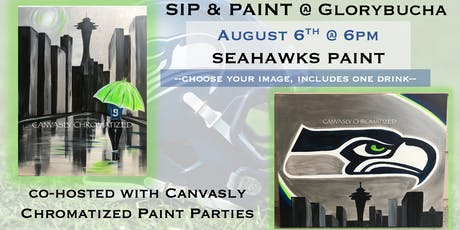 Seahawks Paint @ Glorybucha tickets