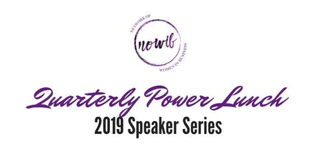 NOWIB Quarterly Power Lunch tickets