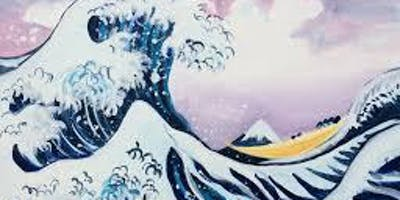 Paint The Great Wave! Leeds, Tuesday 17 September