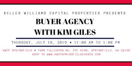 Buyer Agency with Kim Giles tickets