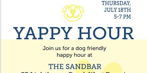 Sandbar Yappy Hour