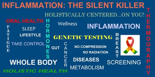 Inflammation the Silent Killer: Holistic Medical Panel Discussion & Buffet