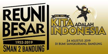 Reuni Besar SMAN 2 Bandung 1952 - 2019 tickets