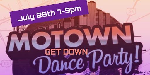 Motown Get Down Dance Party Fundraiser