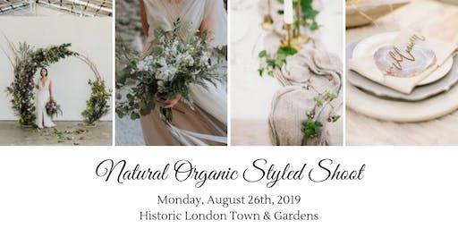 Natural Organic Styled Shoot