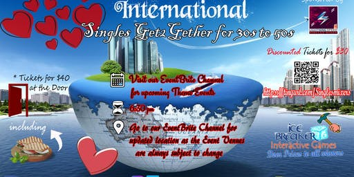 """International Singles Get2gether"": Holidays are here"