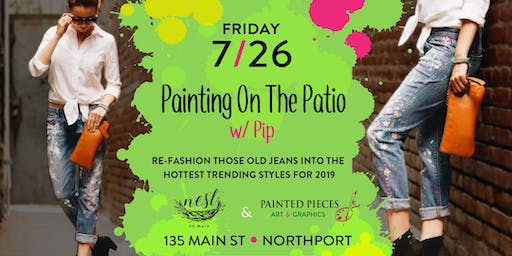 Painting On The Patio w/ Pip @ Nest on Main