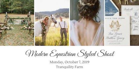 Modern Equestrian Styled Shoot [GOLDEN HOUR] tickets