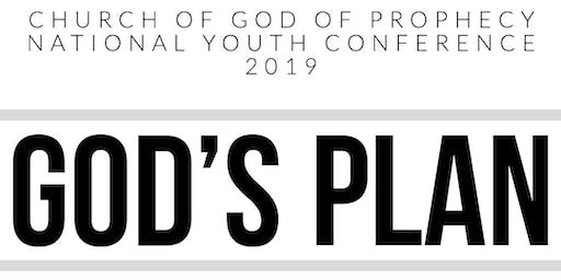 GOD'S PLAN - COGOP Youth Ministries Conference 2019