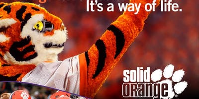 Solid Orange Clemson Kick Off