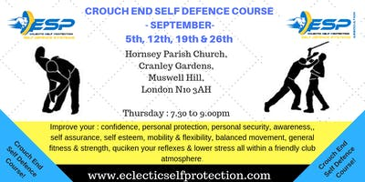 September Crouch End Self Defence Course