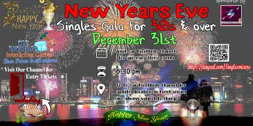 """End of the year 2019 Celebration for all singles and couples"": Dinner and celebration welcoming 2020"