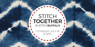 Stitch Together @ Stitch Buffalo Meetup: Shibori Dyeing