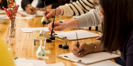 Beginner's Brush Lettering Workshop x Mind charity tickets