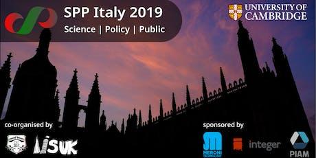 SPP Italy 2019 tickets