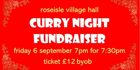 Curry Night Fundraiser tickets