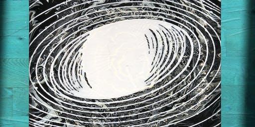 TuxedoKat Presents: Interactive Pendulum Painting Live Art Show