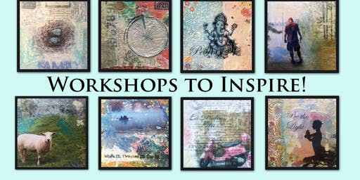 Calling Creative Spirits.....Mixed Media Wax Painting Workshops to Inspire!!!