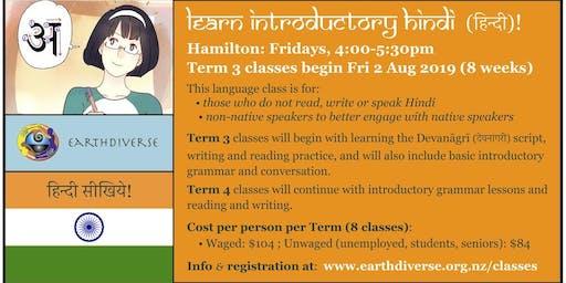 Hamilton Hindi Language classes-Term 3