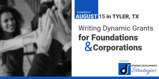 Writing Dynamic Grants for Foundations & Corporations