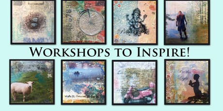 Calling Creative Spirits.....Mixed Media Wax Painting Workshops to Inspire!!!   tickets