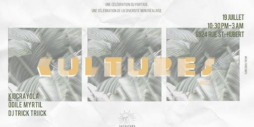 C U L T U R E S Vol.3 | Party, enjaillement, #fortheculture