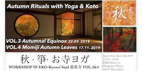 Momiji Sound Meditation with Yoga and Koto @ Temple in Düsseldorf tickets