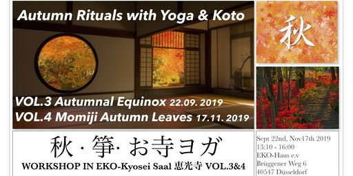 Autumnal Equinox Sound Meditation with Yoga and Koto @ Temple in Düsseldorf