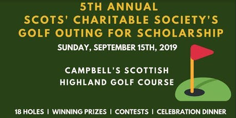 5th Annual SCS Golf Outing tickets