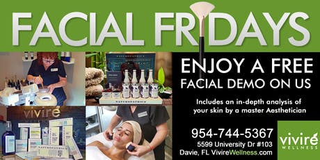 Facial Fridays! tickets