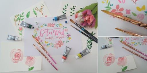 Botanical Watercolour Painting Workshop