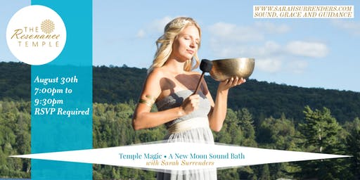 Temple Magic: A New Moon Sound Bath