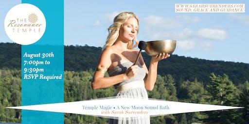 Temple Magic: A New Moon Sound Bath