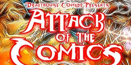 Attack of the Comics Comedy Show tickets