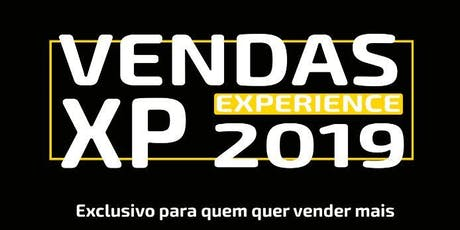 Vendas Experience 2019 ingressos