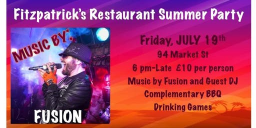 Summer Party Featuring Fusion