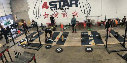 5th 4 Star Weightlifting Camp