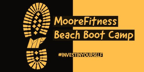 MooreFitness Beach Boot Camp (Round 2) tickets