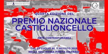 Premio Nazionale Castiglioncello biglietti