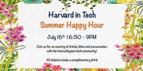 Harvard in Tech - Summer Intercollegiate Happy Hour! tickets