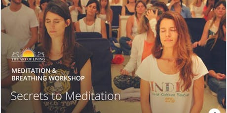 Secrets to Meditation- An introduction to Happiness Program tickets