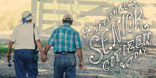 National Senior Citizen Day Celebration!