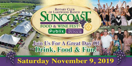 Suncoast Food & Wine Fest 2019 tickets