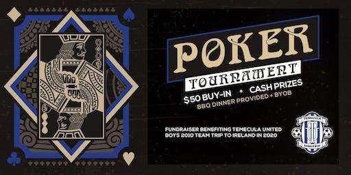 Poker Tournament Fundraiser - TU 2010 Boys Soccer