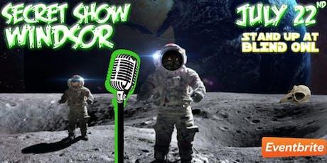 SecretShowWindsor (Stand up comedy at Blind Owl) tickets