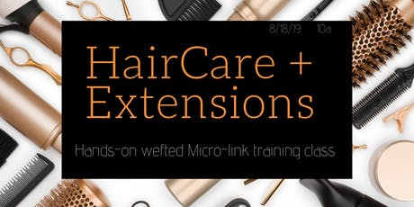Where Hair Care meets Extensions : Microlink Extension Training tickets