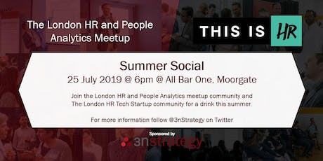 London HR and People Analytics and #ThisIsHR - Summer Social tickets