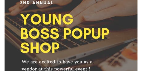 Young Boss Popup Shop tickets