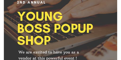 Young Boss Popup Shop