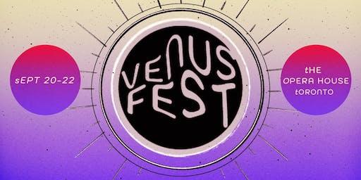 Venus Fest 2019 - Sunday (All Ages)